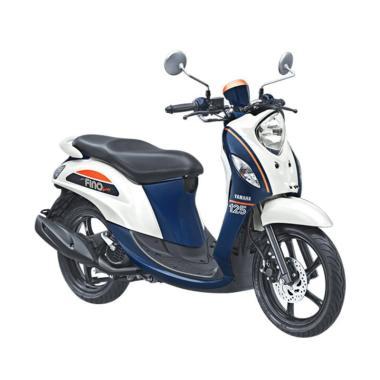 Yamaha New Fino Sporty 125 Blue Core Sepeda Motor [VIN 2018/ OTR Jawa Tengah]