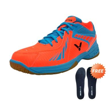 Victor AS 33 OF Sepatu Badminton + Free Spons Tambahan