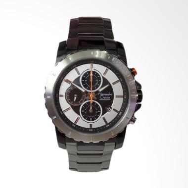 Alexandre Christie Chronograph Jam Tangan Pria - Grey [AC6141MC]
