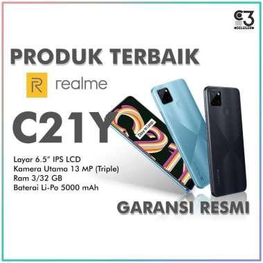 harga Realme C21Y 3/32 Ram 3GB Internal 32GB Garansi Resmi RANDOM Blibli.com