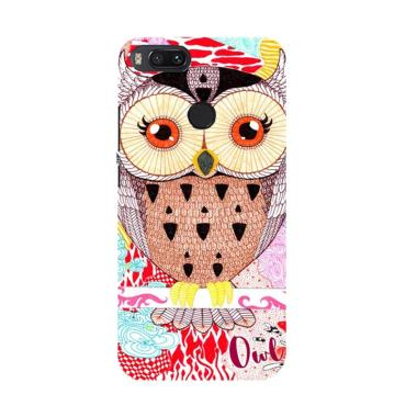 Acc Hp Abstract Owl Drawing E0264 Custom Casing for Xiaomi Mi 5X