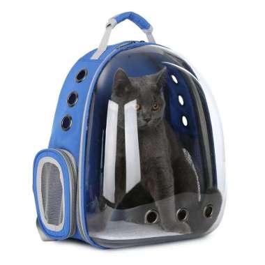harga Tas Astronot Kucing Murah Anjing   Tas Transparan   Pet Cargo - Biru Blibli.com