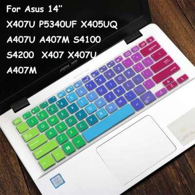 harga FREE ONGKIR Keyboard Cover For Asus X407 X407U A407U A407M S4100 X407MA A407U A407M X407m X407MA X407UA X407UF PU404 A410 S410UA S410UN 14 Blibli.com