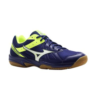 Mizuno Cyclone Speed Sepatu Volley Ball - Blue [V1GA178045]