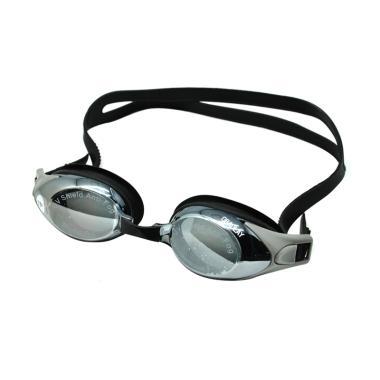 OBAOLAY Minus 4.0 Anti Fog UV Protection Kacamata Renang - Black