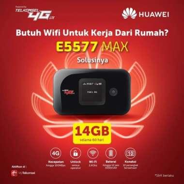 harga Mifi Modem Wifi Router 4G Huawei E5577 MAX Free Telkomsel 14Gb 2bln MULTY COLOUR Blibli.com