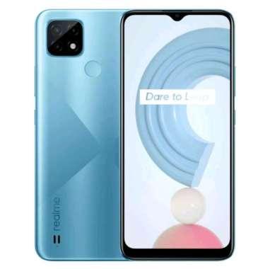 harga Realme C21 3/32 GB Garansi Resmi Indonesia Cross Blue Blibli.com