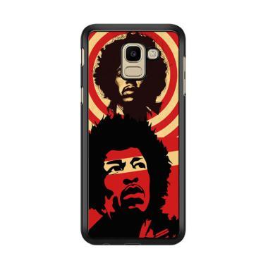 Flazzstore Jimi Hendrix C0393 Premi ... or Samsung Galaxy J6 2018