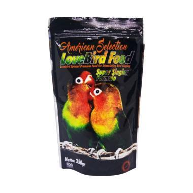 America Selection Super Singing Formula Pakan Burung Lovebird [250 g]