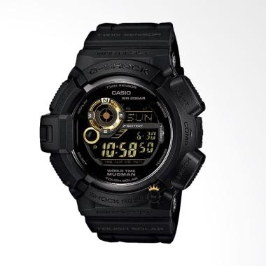 CASIO G-Shock Resin Band Jam Tangan Pria - Black [G-9300GB-1]