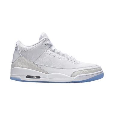 ... authentic nike air jordan 3 retro sepatu basket pria white d6750 20a59 24a7e1903e