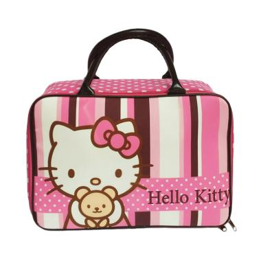 Hello Kitty 0930040053 Kanvas Jumbo Tas Travel Anak