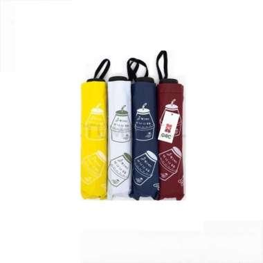 harga Payung lipat 3 banana milk korea lapis hitam anti UV GRC - L05 Blibli.com
