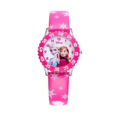 Initiative Disney Childrens Watch Frozen Fashion Classic Simple Kids Watch Luxury Brand Quartz Casual Leather Watch For Kids Children Watches