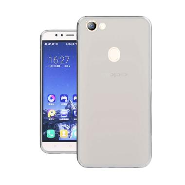 LOLLYPOP Ultrathin TPU Jelly Silicone Softcase Casing for OPPO F5 - Clear