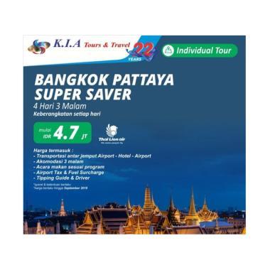 K.I.A Tours & Travel - Bangkok Patt ... sata Internasional [4D3N]