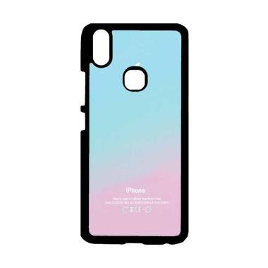 OEM Apple Logo Pink Aqua Teal Paste ... rdcase Casing for VIVO V9