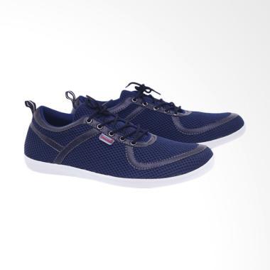 harga Garucci Kasual Sepatu Sneaker Pria - Blue [A1GCM 1281] Blibli.com
