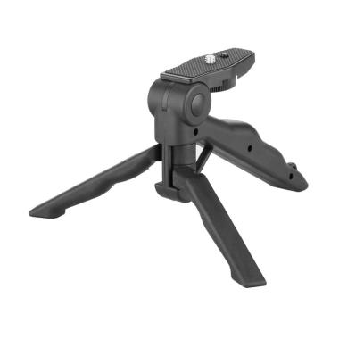 Tripod Mini Foldable 2 in 1 for DSLR or Action Camera