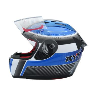 harga KYT RC Seven #12 Helm Full Face L Blue Black Blibli.com