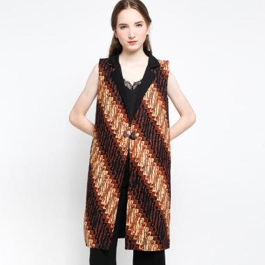 Batik Arjunaweda Women 00196078 Par ... ng Outer Wanita – Cokelat