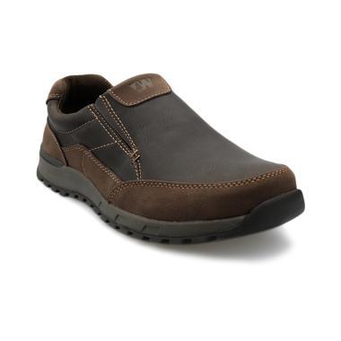 Weinbrenner Shoes Revoli Sepatu Pria - Brown [8514126]