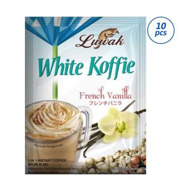 Luwak White Coffee Vanilla Kopi Instant [20 g x 10 Sachet]