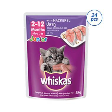 Daftar Harga Makanan Anak Kucing Basah Whiskas Terbaru Februari