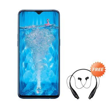 harga OPPO F9 Smartphone [4 GB/ 64 GB] + Free Headset Bluetooth Sport Blibli.com