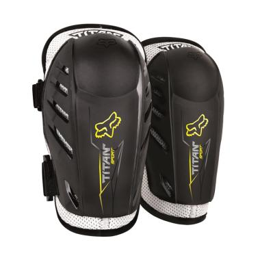 Fox Titan Sport Elbow Guard Pelindung Siku - Black [04273-001-OS]