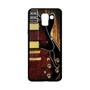 harga CARSTENEZIO Motif Unik Gitar Listrik 6 Softcase Casing for Samsung Galaxy J6 - Hitam Blibli.com
