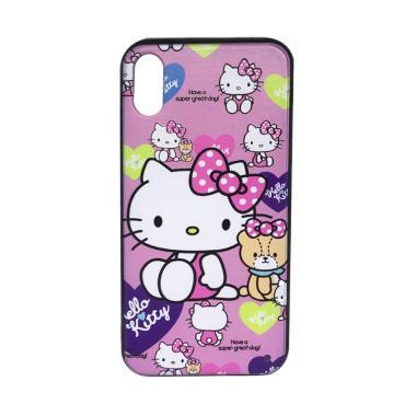 harga JV ACC Fuze Motif Hello Kitty Kode 6 Silikon Casing for iPhone X Blibli.com