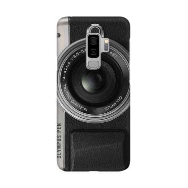 Indocustomcase Camera Olympus Pen Cover Casing for Galaxy S9 Plus