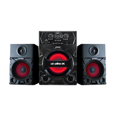 Niko Atomic 2.1 Bluetooth Speaker Aktif [Radio]