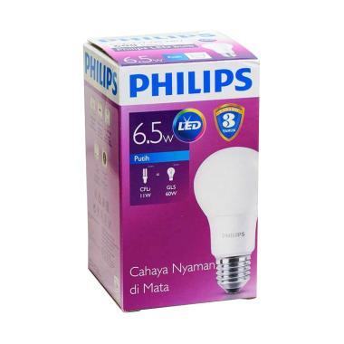 PHILIPS LED Cool Daylight Bohlam Lampu [6.5 W]