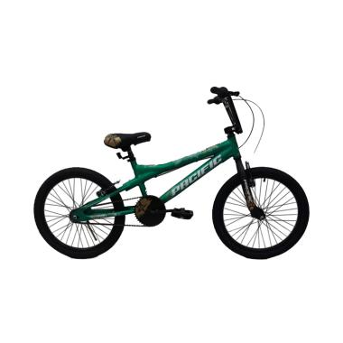 Pacific Xman 1.0 Sepeda BMX - Green [20 Inch]