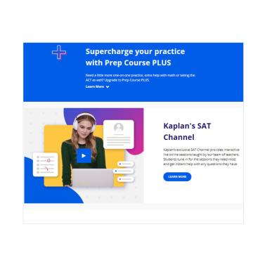 Kaplan Edupac SAT Preparation Online Course E-Voucher