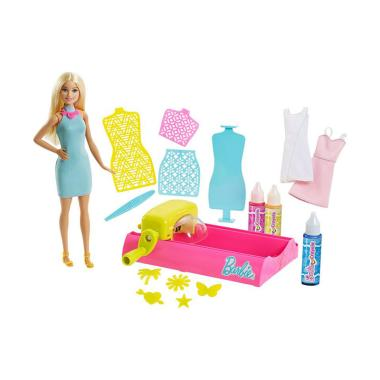 Barbie FPW10 Crayola Color Magic Station Doll   Playset Boneka 35cbd49554