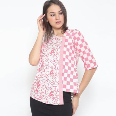Jual Baju Batik Wanita Atasan Lengan Panjang Terbaru - Harga Murah ... 3314d4977c