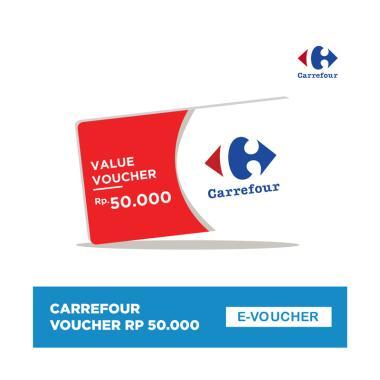 harga Carrefour Value Voucher 50.000 Blibli.com