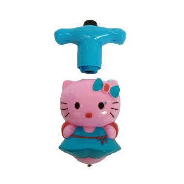 Hello Kitty 0960330001-2 Gasing Mainan Anak - Biru