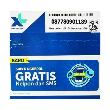XL Nomor Cantik Hoki 0877 8090 1189 Kartu Perdana [4G LTE/ 12 Digit]