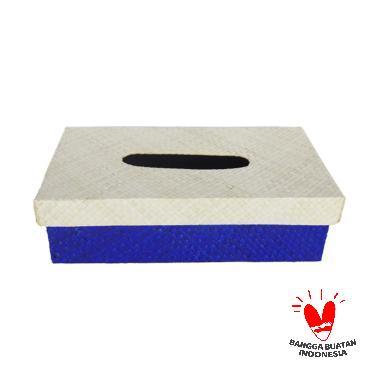 DakonTasik Anyaman Pandan Standar Box Tempat Tissue