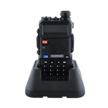 Baofeng UV-5R VHF/UHF Dual Band DCS FM Ham Two Way Radio Earpiece Walkie Talkie