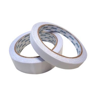 harga Double Tape Joyko 1 inchi [2.4 cm] / Lakban Isolasi Dobel Tip Selotip Kertas Putih Blibli.com