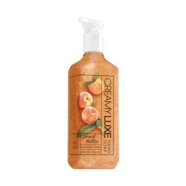 harga Bath And Body Works Peach Bellini Creamy Luxe Hand Soap [236 mL] Blibli.com