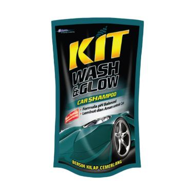 KIT Wash Glow Cairan Pembersih Eksterior Kendaraan 800 ML Pouch