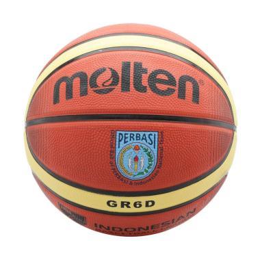 harga Molten Deep Channel Bola Basket - Brown [GRX6D  - Ti Brown] Blibli.com