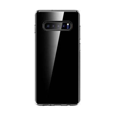 Series Light and Thin Anti-fall Cover ABS Casing for Samsung Galaxy S10/S10  Plus/S10 Lite - Transparent [Original]