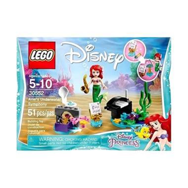harga LEGO 30552 Disney Ariel's Underwater Symphony Bagged Mainan Blok & Puzzle Blibli.com